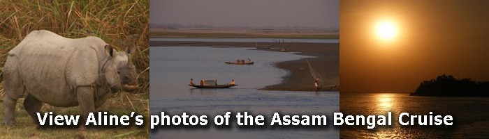 View Aline's photos of the Assam Bengal cruise