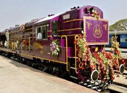 The Golden Chariot train
